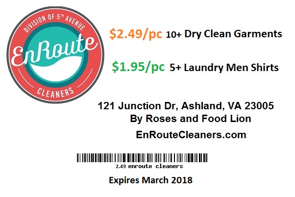 dry cleaner coupons Hanover
